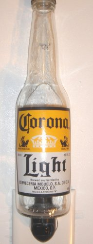 Corona Light Hand Crafted Beer Bottle Night Light