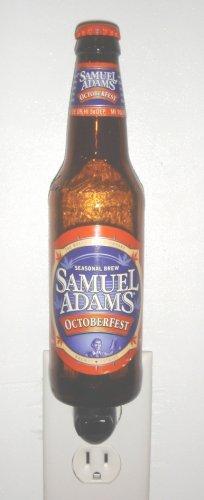 Sam Adams Octoberfest Hand Crafted Beer Bottle Night Light