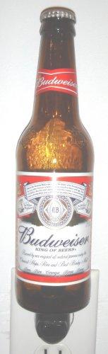 Budweiser Hand Crafted Beer Bottle Night Light