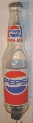 Pepsi Cola Hand Crafted Beer Bottle Night Light