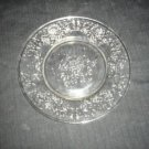Crystal Salad Plate Florentine No. # 2 Hazel-Atlas