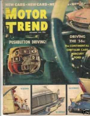 Motor Trend November 1955