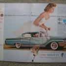 1960 Mercury Montclair Centerfold  Magazine Ad