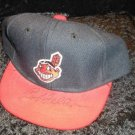 Cleveland Indians Bob Feller Autograph Signed Boy's Cap