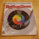 Rolling Stone Magazine # 534 1988 Collectors 100 Best Singles of Past 25 Yrs