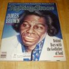 Rolling Stone Magazine # 549 1989 James Brown Cover