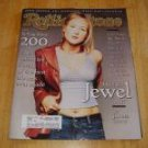 Rolling Stone Magazine # 760 1997 Jewel Cover