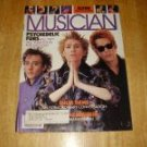 Musician Magazine # 101 1987 Psychedelic Furs Cover