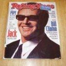 Rolling Stone Magazine # 782 1998 Jack Nicholson Cover