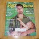 Rolling Stone Magazine # 842 2000 Tom Green Cover