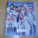 Rolling Stone magazine # 837 2000 'N Sync Cover