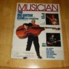 Musician Magazine # 95 1986 Pete Townshend Cover