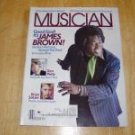 Musician Magazine # 90 1986 James Brown Cover