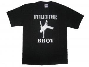 Full-Time Bboy Black - Medium