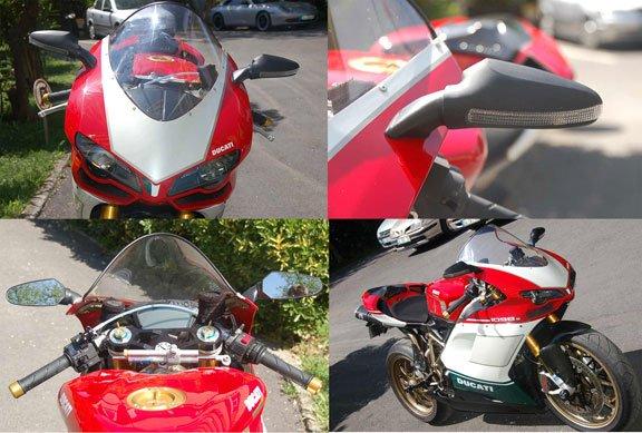 Ducati 1098/848 OEM LED mirrors