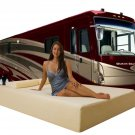 "10"" Short Queen Deluxe Memory Foam Mattress for RV"