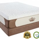 "12"" King CoolBreeze GEL Memory Foam Mattress with Free 2 Gel Pillows"