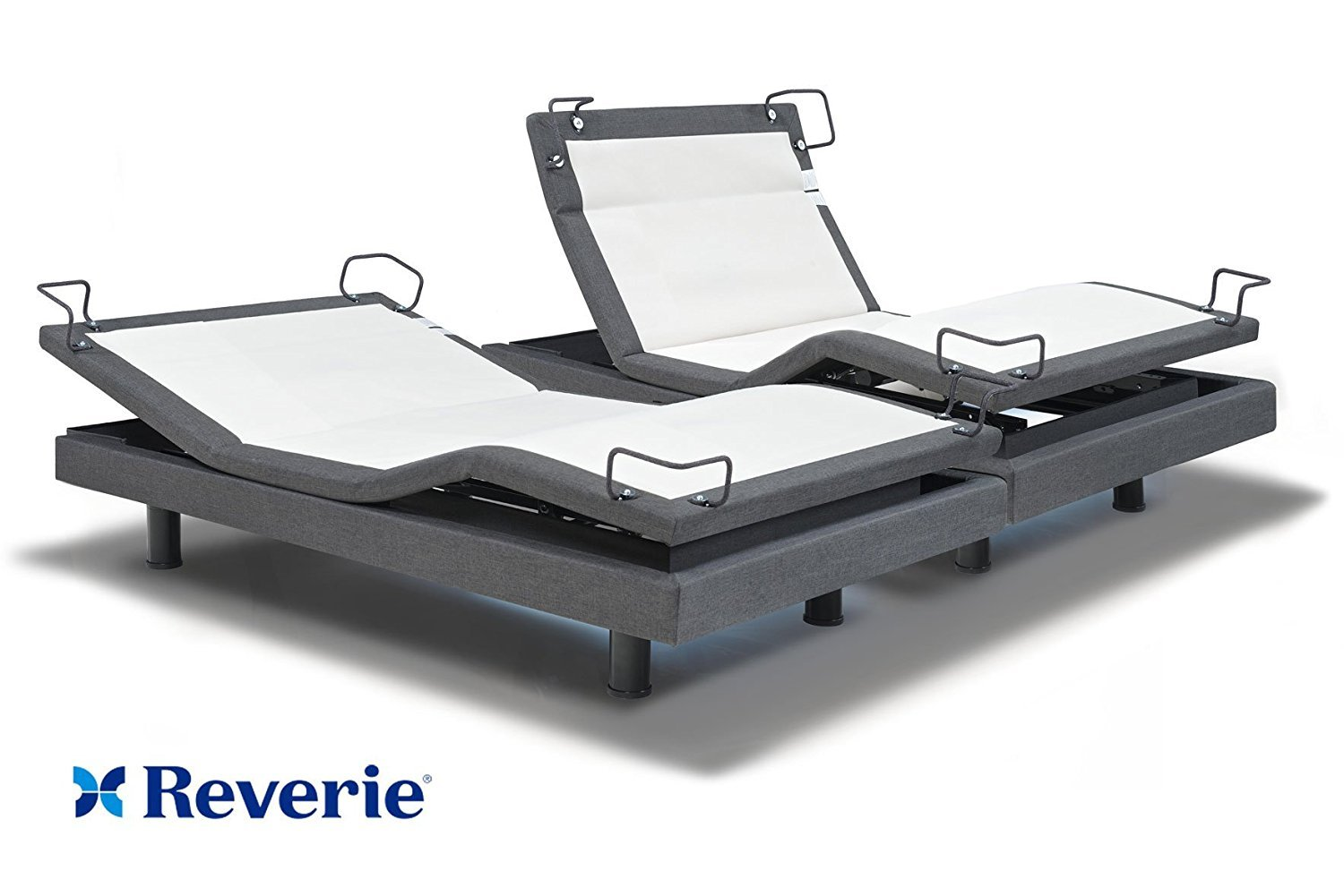 Reverie adjustable bed split king : Reverie q adjustable bed base split king in home delivery