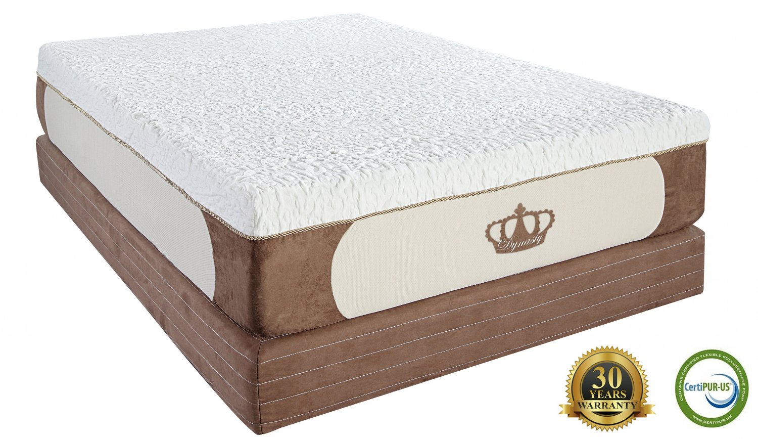 12 Queen Coolbreeze Gel Memory Foam Mattress