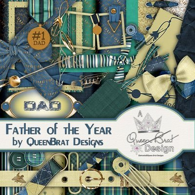 Father Of The Year Scrappers Kit
