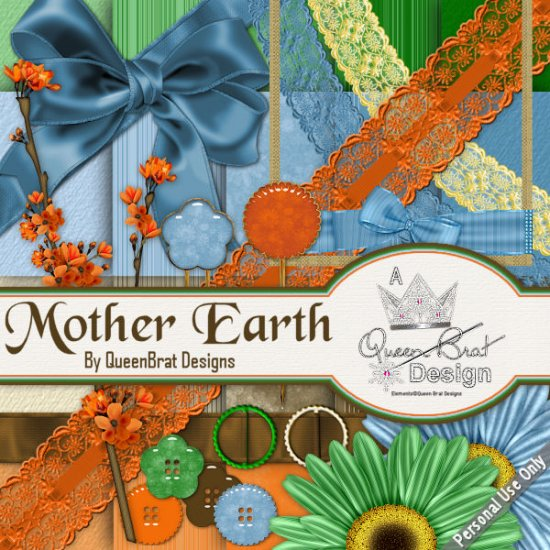 Mother Earth Scrappers Kit