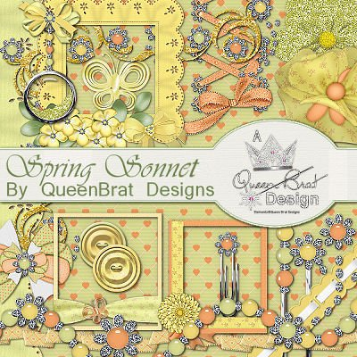 Spring Sonnet Scrappers Kit