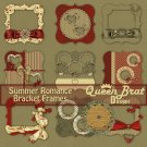 Summer Romance Bracket Frames Scrappers