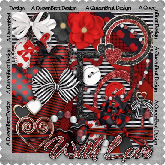 With Love Scrappers Kit