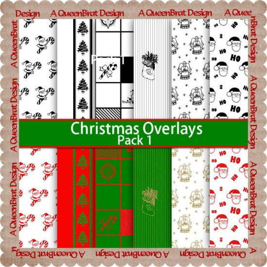 Christmas Overlays Pack 1