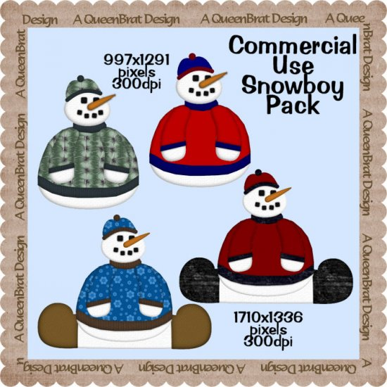 Lil Snow Boy Pack