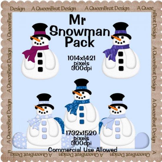 Mr Snowman Pack