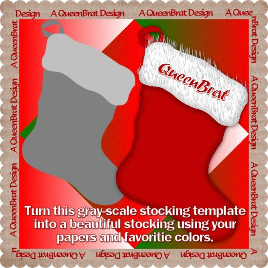 Stocking Template