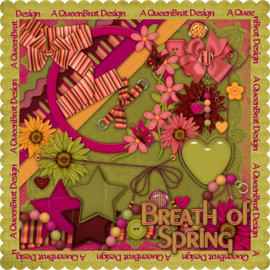 Breath of Spring Scrappers Kit