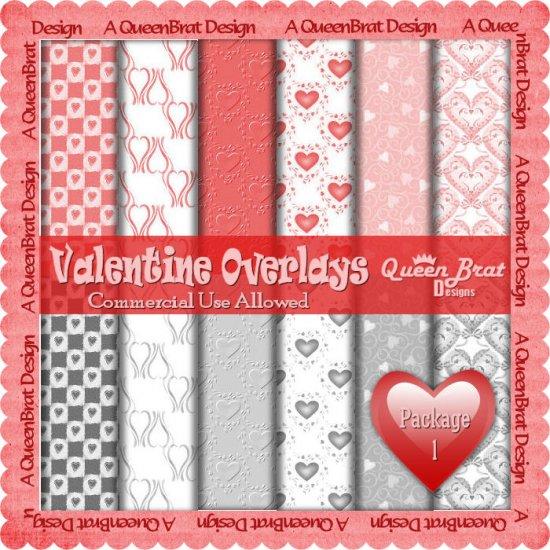 Valentine Overlays 1 - Scrapper Size