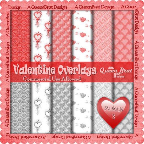 Valentine Overlays 3 - Scrapper Size