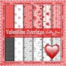 Valentine Overlays 4 - Scrapper Size