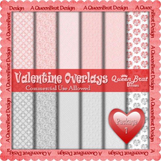 Valentine Overlays 7 - Scrapper Size