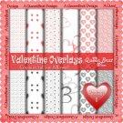 Valentine Overlays 8 - Scrapper Size