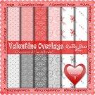 Valentine Overlays 9 - Scrapper Size