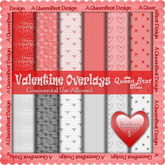 Valentine Overlays 5 - Tagger Size
