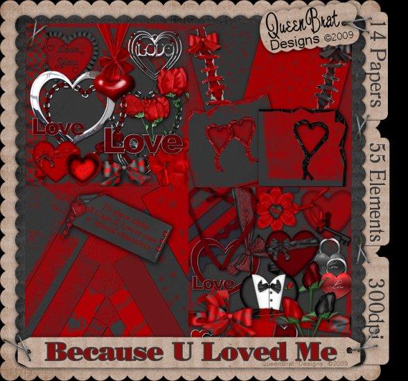Because U Loved Me  Scrapper