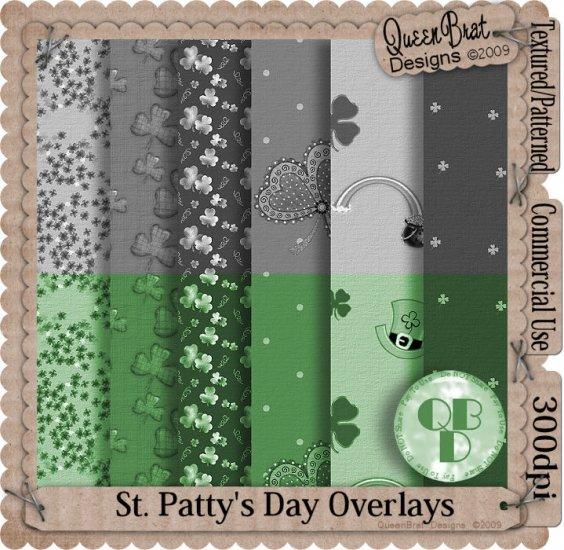 St. Patty's Overlays