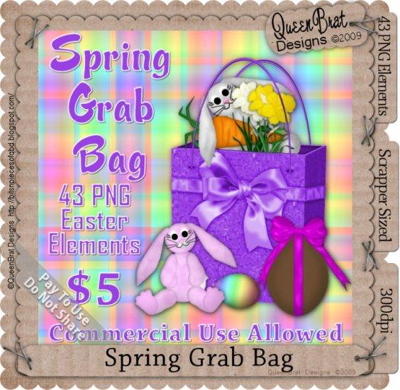 Spring Grab Bag Scrapper Size