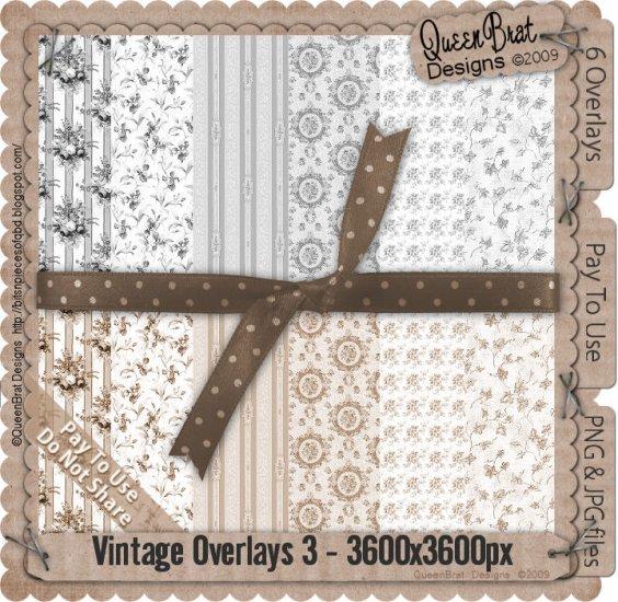 Vintage Overlays Pack 3-Scrapper