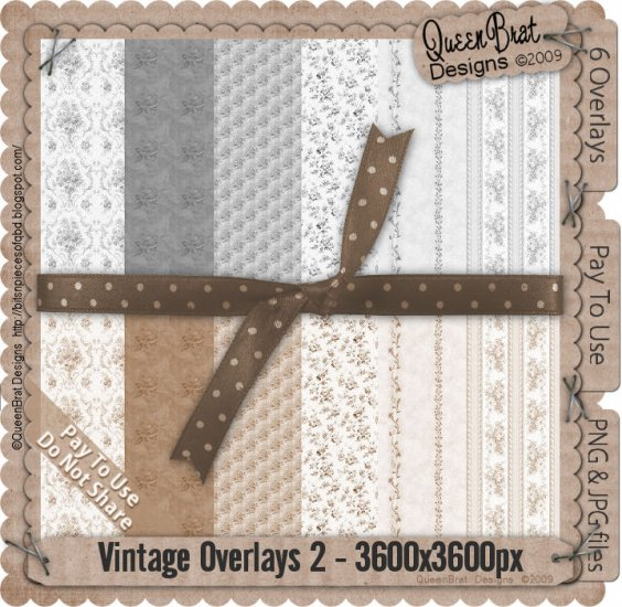 Vintage Overlays Pack 2-Scrapper
