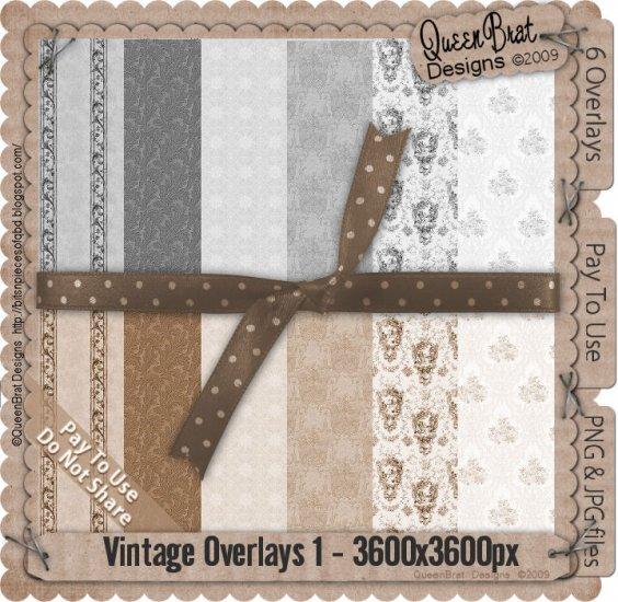 Vintage Overlays Pack 1-Scrapper