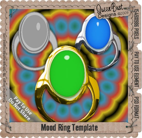 Mood Ring Template