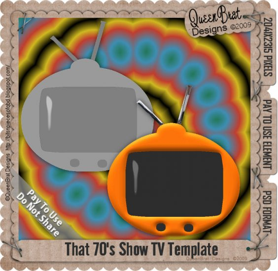 That 70's show TV Template