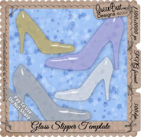 Glass Slipper Template