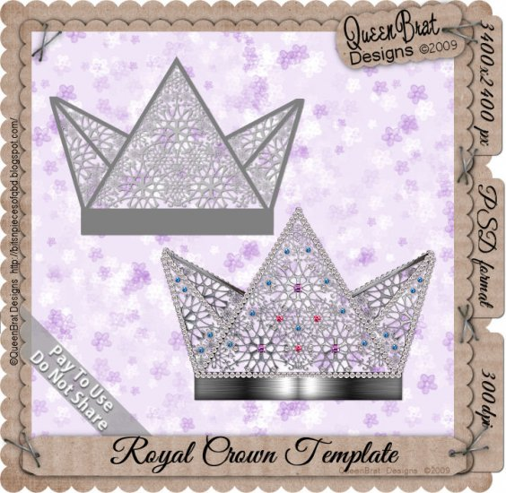 Royal Crown Template